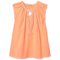 Sunuva Souffle Cheesecloth Dress Oranssi