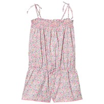 Sunuva Liberty Floral Playsuit Pink