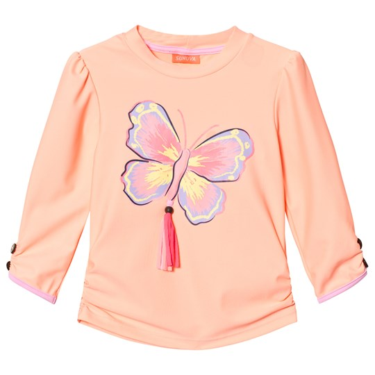 Sunuva Tropical Butterfly Rash Vest TROPICAL BUTTERFLY