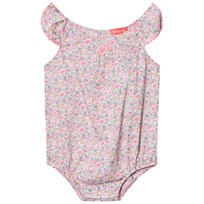 Sunuva Liberty Floral Baby Body Pink
