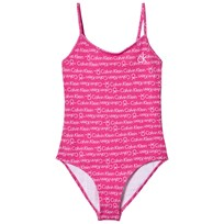 Calvin Klein Pink Branded Swimsuit 042