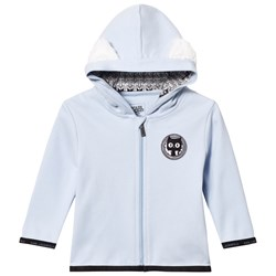 Karl Lagerfeld Kids Blue Cat Ear Hoody