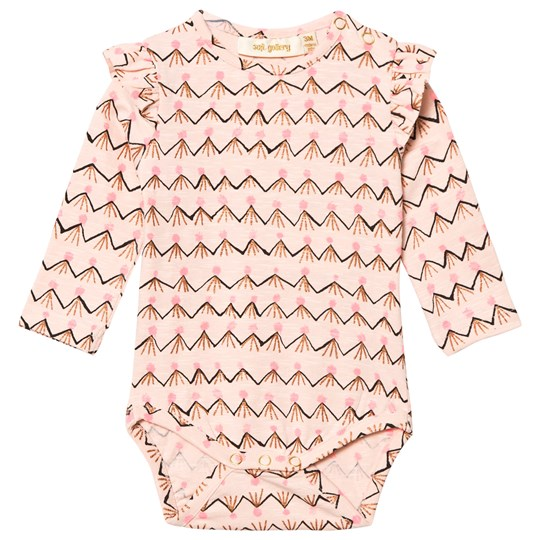 Soft Gallery Fifi Baby Body Scallop Volcano Scallop Shell, AOP Volcano