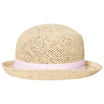 Melton Straw Hat - Summer Girl Baby Pink Baby Pink
