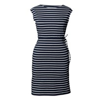 Boob Dress Simone Midnight Blue Off-White M Blue/Offwhite