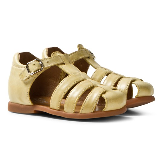 Pom Dapi Fancy Sandals Papy Jaune Jaune