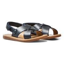 Pom Dapi Plage Stitch Cross Sandals Marine Marine