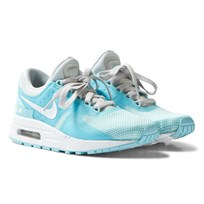 NIKE Blue and Silver Air Max Zero Essential Trainers PURE PLATINUM/WHITE-STILL BLUE