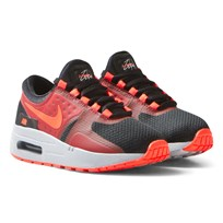 NIKE Black Red Zero Essential Kids Trainers BLACK/BRIGHT CRIMSON-GYM RED-WOLF GREY