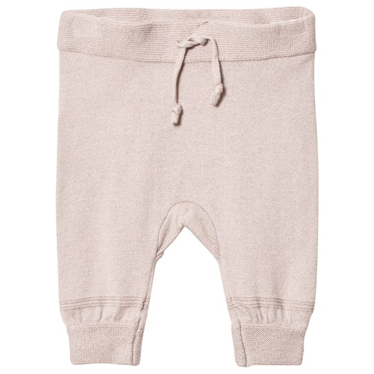 Hust&Claire Knit Jogging Trousers Sand Sand