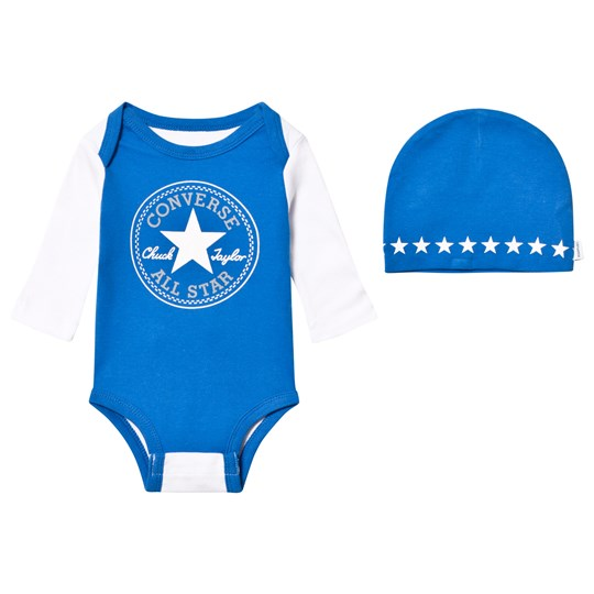 Converse Creeper Baby Body och Mössa Set U4U