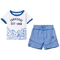 Converse Sneaker Toss Tee and Shorts Set B9X
