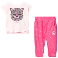 Converse Pink Printed Graphic 2 Piece Play Set A4A
