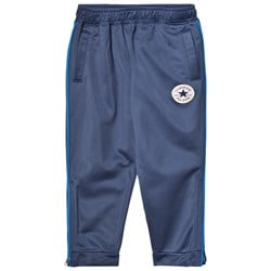 Converse Navy Side Zip Track Jogging Pants