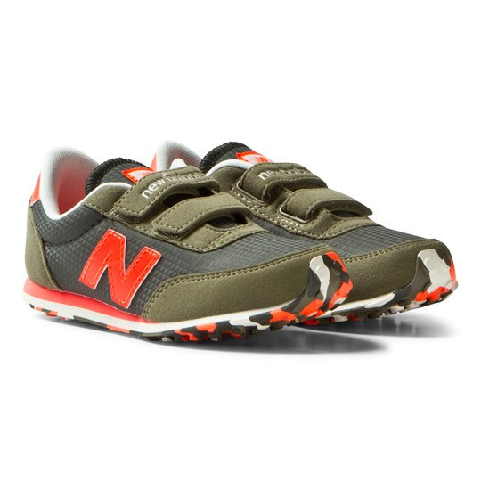 New Balance 410 Hook and Loop Sneakers Green/Orange Green/orange