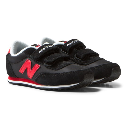 New Balance New Balance 410 Hook and Loop Sneakers Svart/Röd Black/red