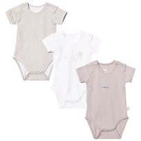Hust&Claire 3-Pack Baby Body Sand Sand