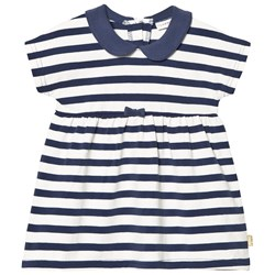 Hust&Claire Striped Dress Blue Moon