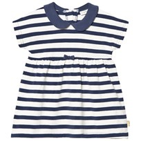 Hust&Claire Striped Dress Blue Moon Blue moon