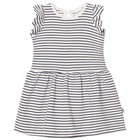 Hust&Claire Striped Dress Snow White Snow White