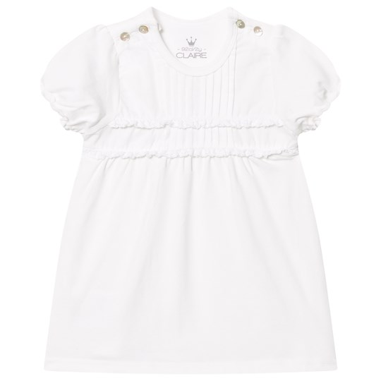 Hust&Claire T-Shirt with Pleats White White