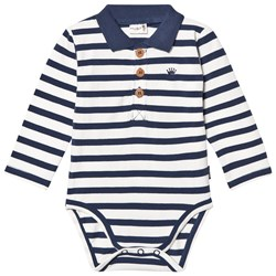 Hust&Claire Baby Body With Collar Blue Moon