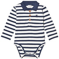Hust&Claire Baby Body With Collar Blue Moon Blue moon