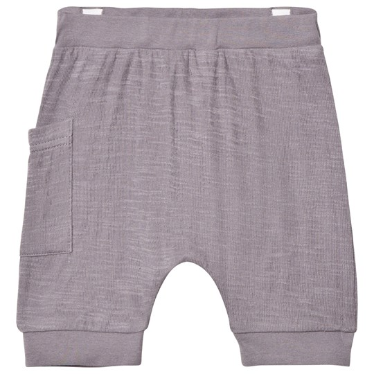 Hust&Claire Jersey Shorts With Side Pocket Raw Grey Raw grey