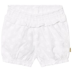Hust&Claire Embroidery Anglaise Shorts White