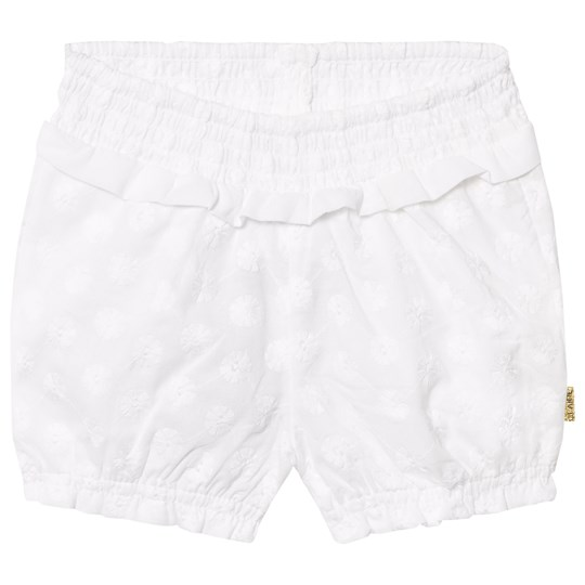 HustampClaire  Embroidery Anglaise Shorts White  Babyshop