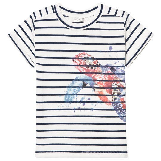 Hust&Claire T-Shirt with Turtle Blue Moon Blue moon