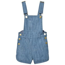 Soft Gallery Lux Dungarees Denim Blue Minidot