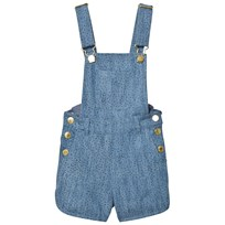 Soft Gallery Lux Dungarees Denim Blue Minidot Denim Blue, AOP Minidots