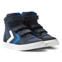 Hummel Stadil Canvas High Jr Sneakers Total Eclipse Total Eclipse