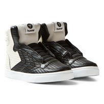 Hummel Stadil 50Fifty Leather Jr Sneakers Black Black