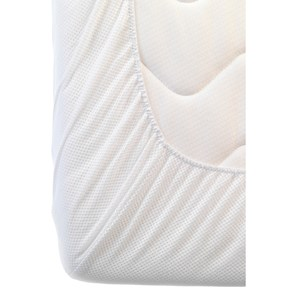Image of AeroSleep Baby Fitted Sheet White - 40 x 90 cm (2743712989)