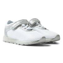 Lelli Kelly Emily Light Up Sneakers Vit/Silver WHITE/SILVER