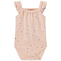Petit by Sofie Schnoor Triangle Print Baby Body Rosa