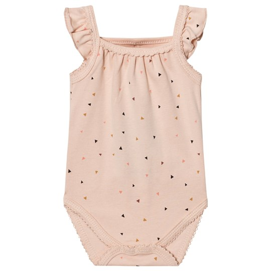 Petit by Sofie Schnoor Baby Body Triangle Print Pink Triange print