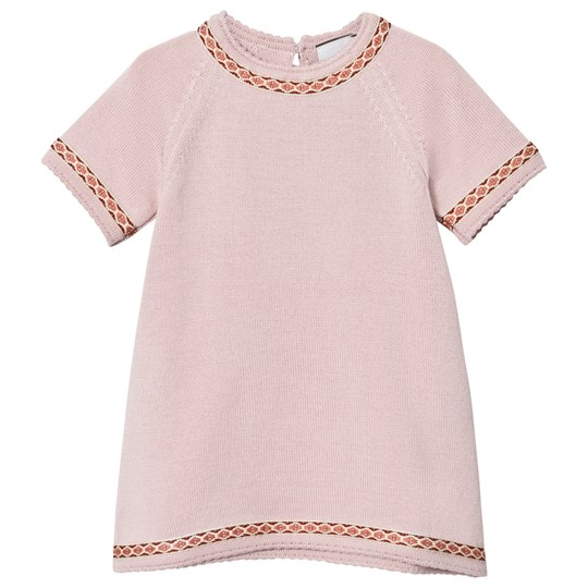 Lillelam Dress Embroidery Pink Pink