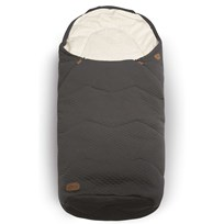 Voksi Breeze Light Footmuff Dark Grey Sort