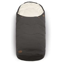 Voksi Breeze Light Footmuff Dark Grey Musta