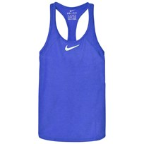 NIKE Blue Tennis Slam Tank Top PARAMOUNT BLUE/GHOST GREEN