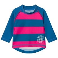 Geggamoja Uv- Long Sweater Marin/strong Pink Marin/Strong Pink
