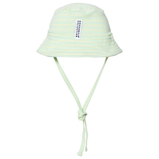 Geggamoja Sunny Hat Soft Green Yellow Soft green/yellow