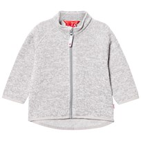 Reima Staaki Fleece Sweater Melange Grey Melange Grey