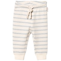 eBBe Kids Serle Baby Sweatpants Blue Fog Stripes Blue fog stripe