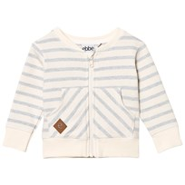 eBBe Kids Star Sweat Jacket Blue Fog Stripes Blue fog stripe