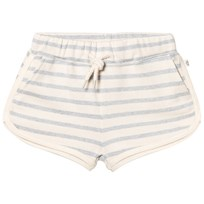 eBBe Kids Saga Sweat Shorts Blue Fog Stripes Blue fog stripe