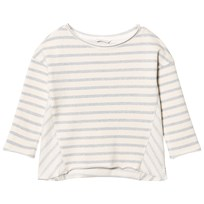 eBBe Kids Sadie Sweatshirt Blue Fog Stripes Blue fog stripe